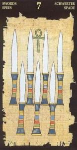 7 мечей таро значение