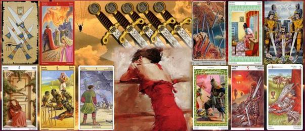5 мечей – карта дня